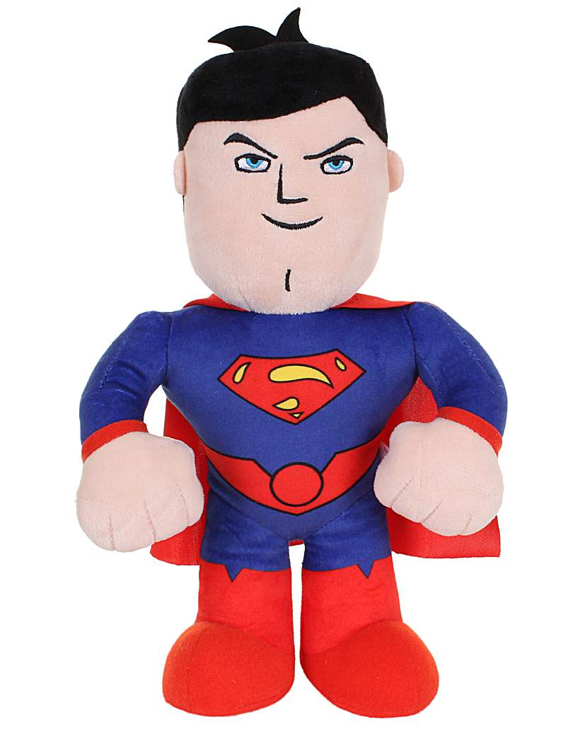 DC Universe Talking Superman Soft Toy