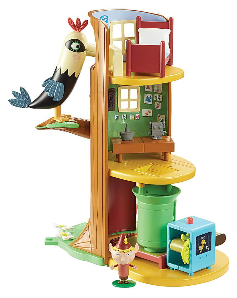 Image of Ben & Holly's Elf Tree Playset