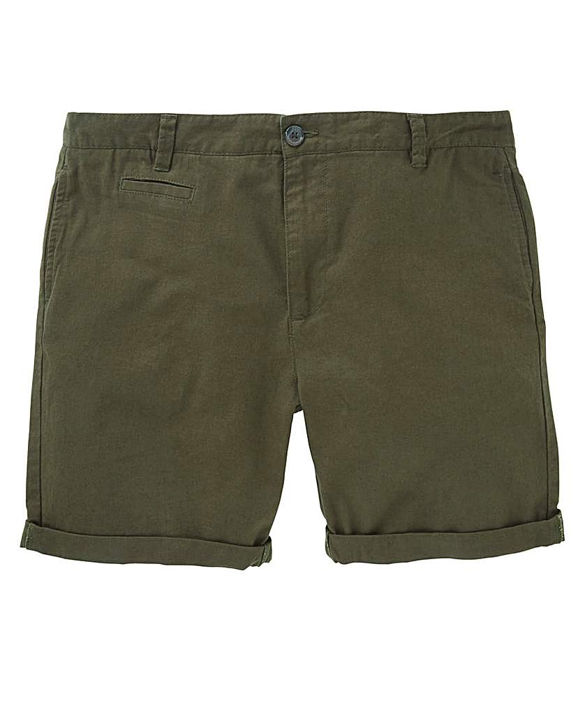 Black Label Linen Mix Smart Short.