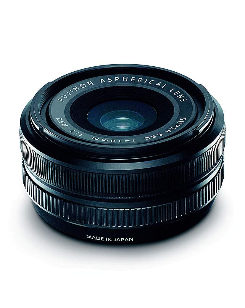 Fuji XF-18mm f/2.0 Lens