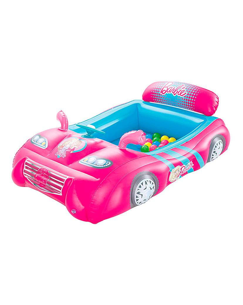 Product photo of Barbie sports car ball pit