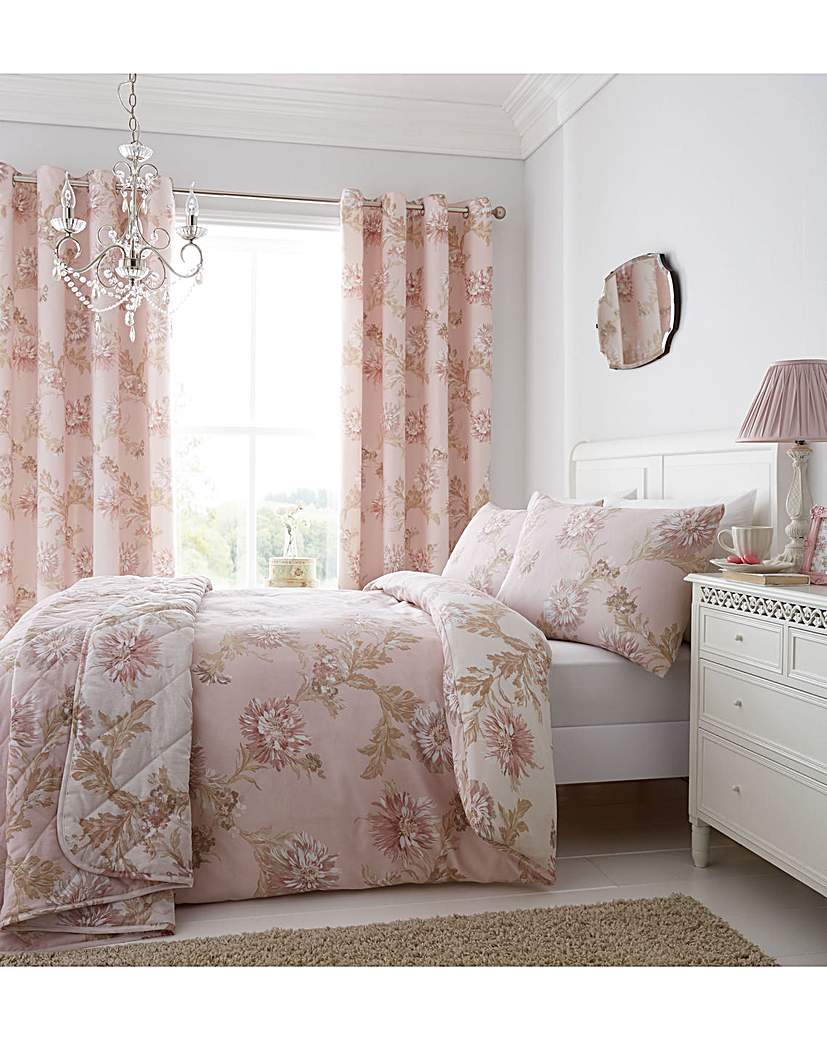 Image of CL Chrysanthemum Curtains