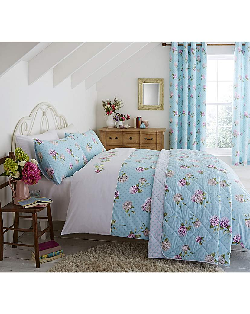 Image of CL Embroidered Floral Curtains