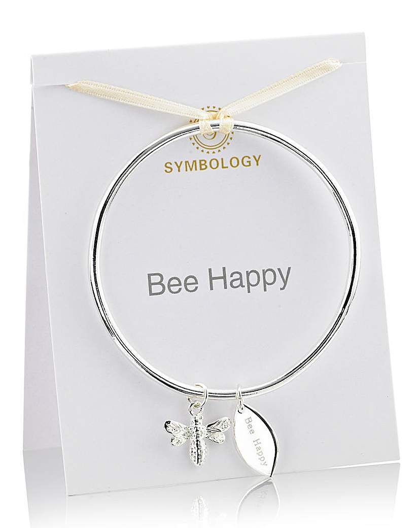 Symbology Sentimental Charm Bangle