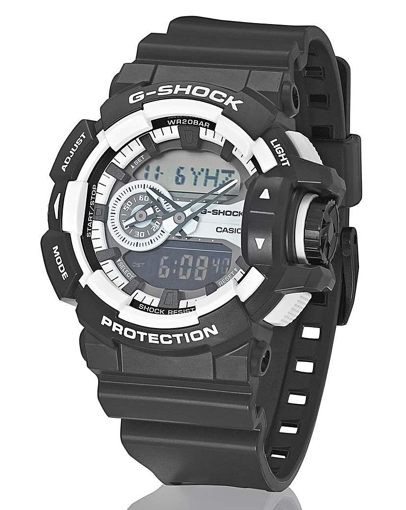 Image of G-Shock Gents Monochrome Strap Watch