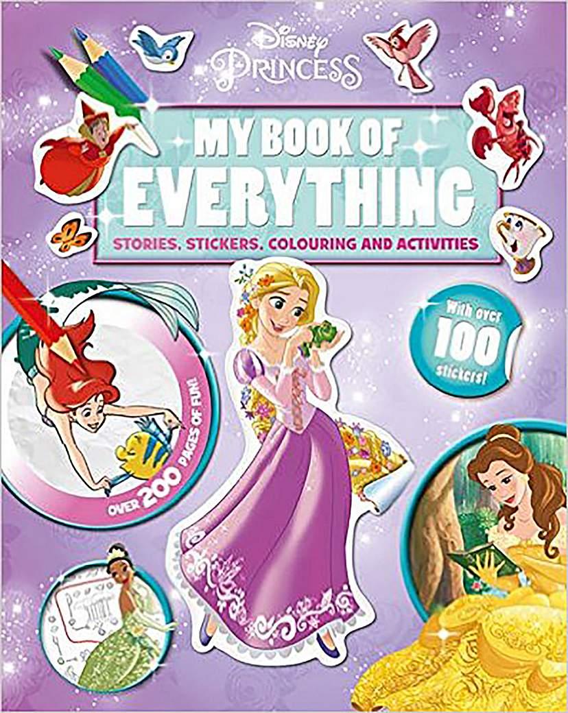 Image of Disney Princess My Book of Everything