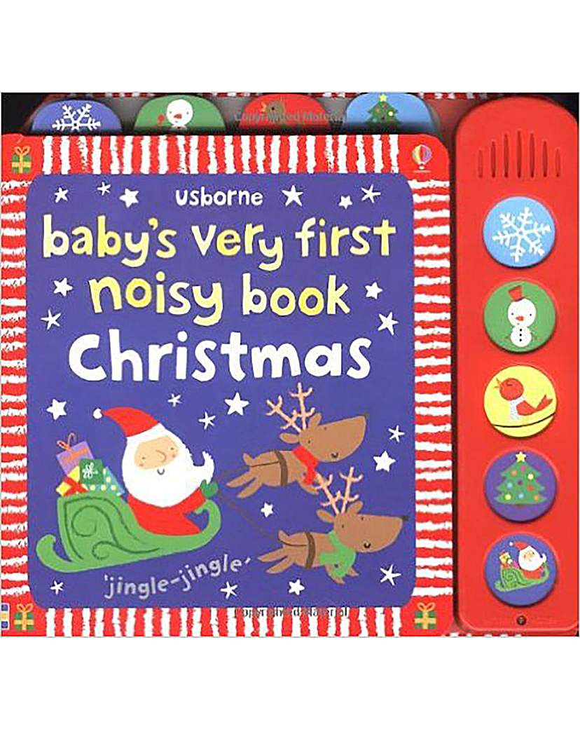 Image of Babys First Noisy Christmas Book