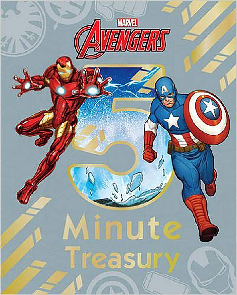 Marvel Avengers 5 Minute Treasury