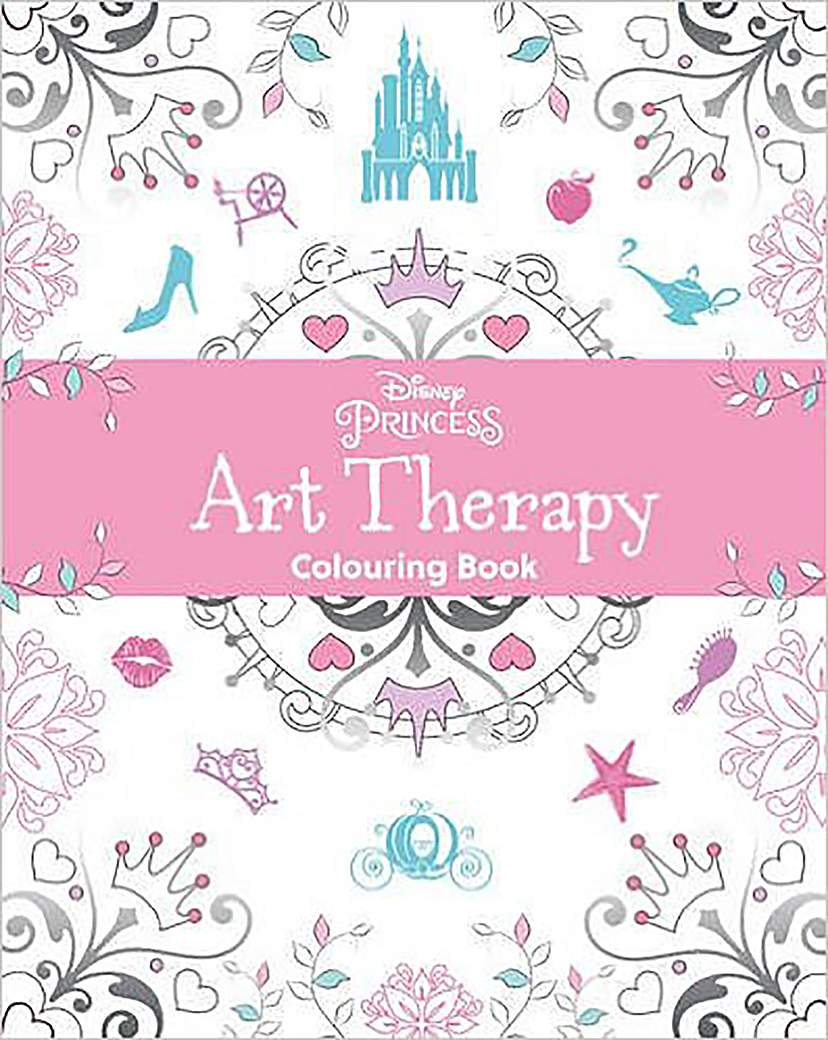 Image of Disney Princess Art Therapy Colouring