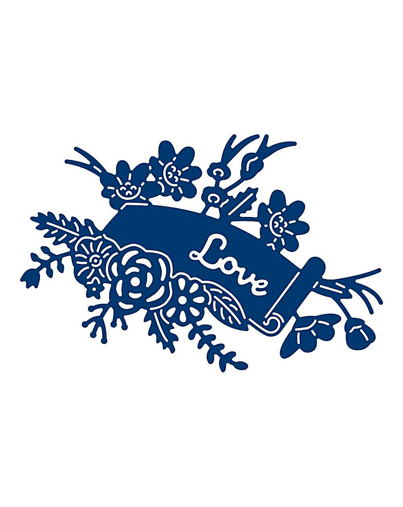 Tattered Lace Floral Scroll