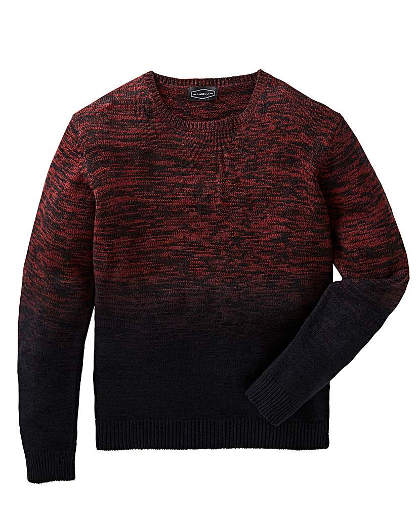 Label J Dip Dye Knit Regular