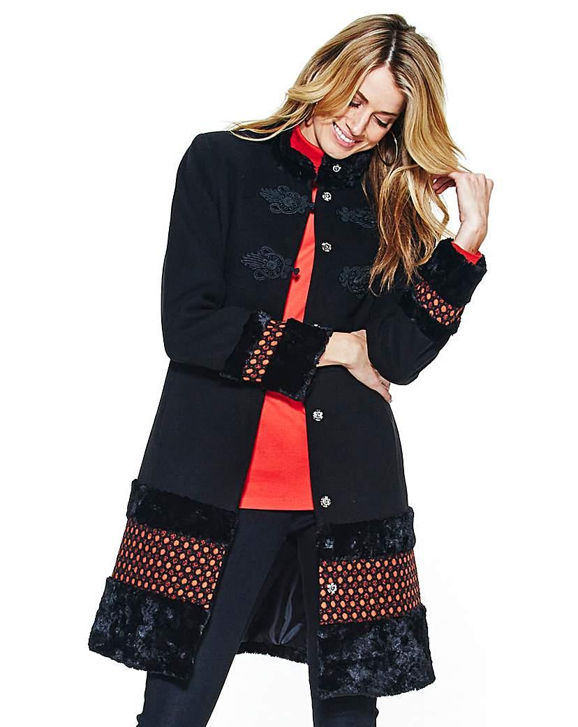 Joanna Hope Braid Trim coat