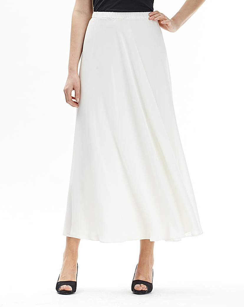 1920s Style Skirts Joanna Hope Chiffon Maxi Skirt £18.00 AT vintagedancer.com