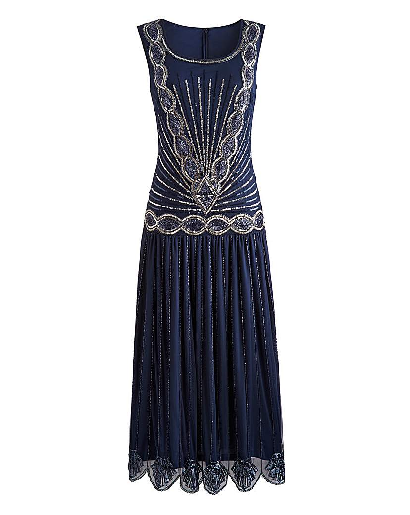 Joanna Hope Sequin Maxi Dress £84.00 AT vintagedancer.com