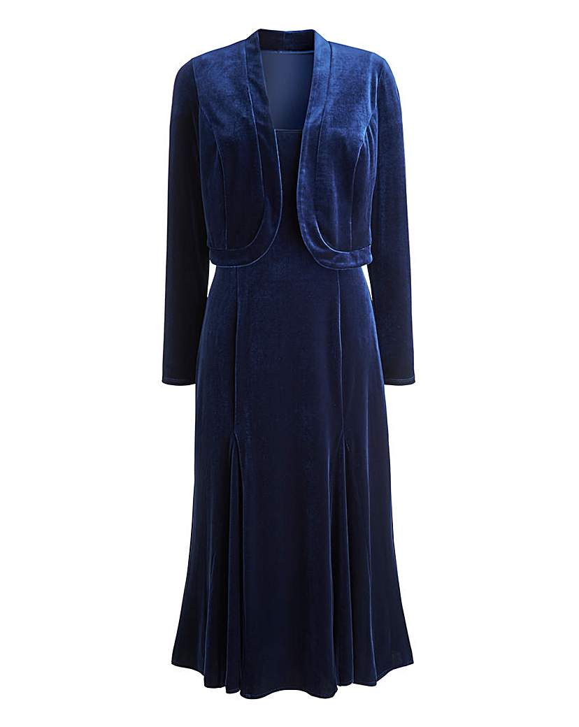 Joanna Hope Velour Dress and Bolero £28.50 AT vintagedancer.com
