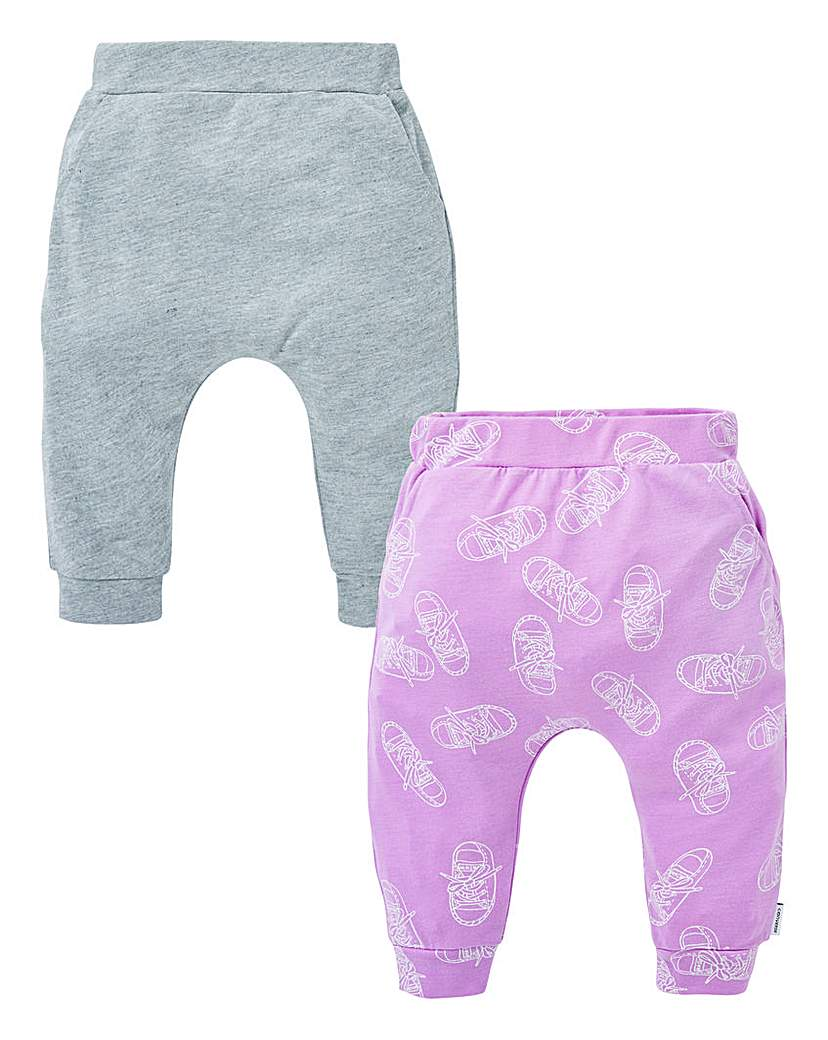 Image of Converse Baby Girl Pack of Two Joggers