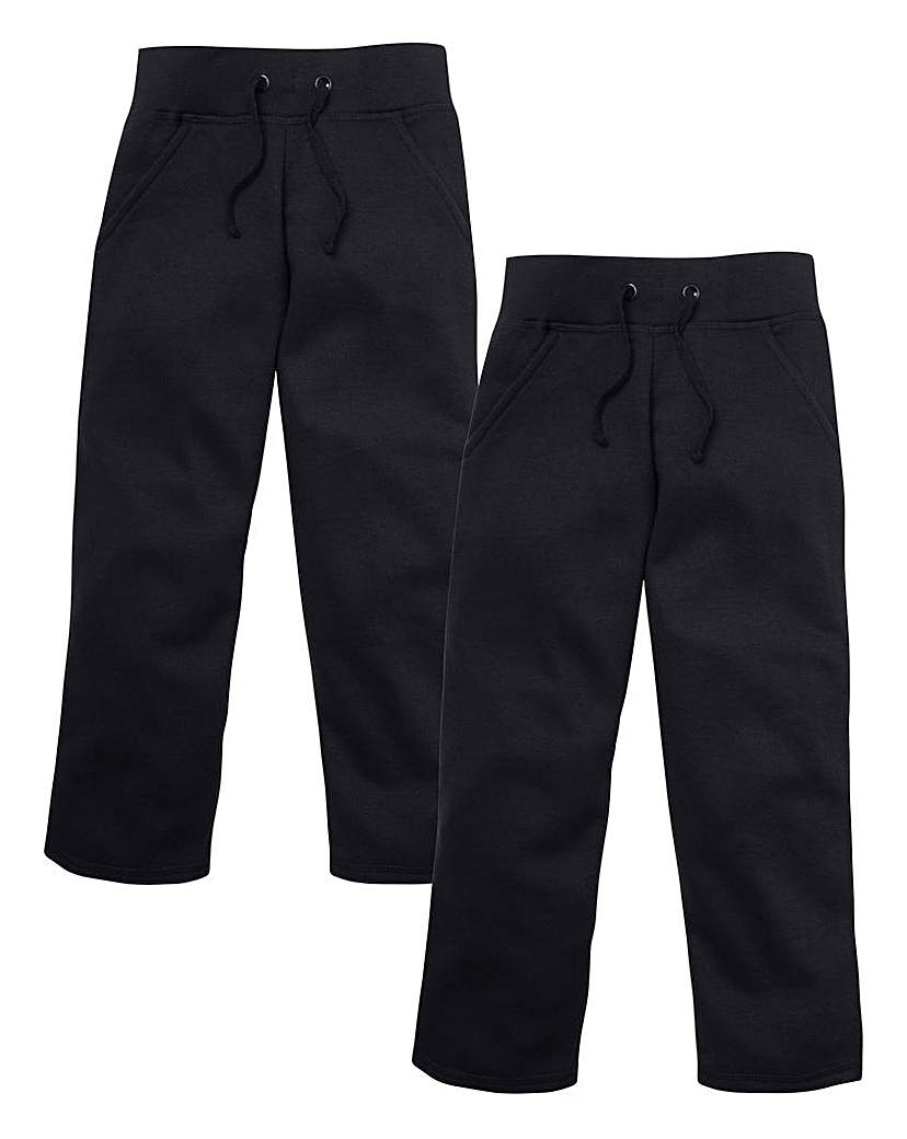TKD Girls Pack of Two Jogging Pants