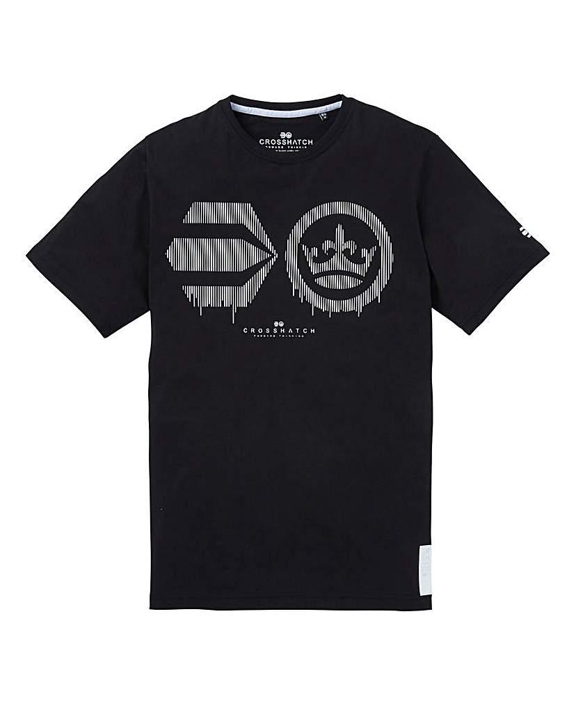 Image of Crosshatch Baseline T-Shirt