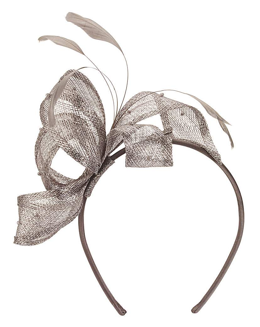 Image of Headband Fascinator With Pearl Detail