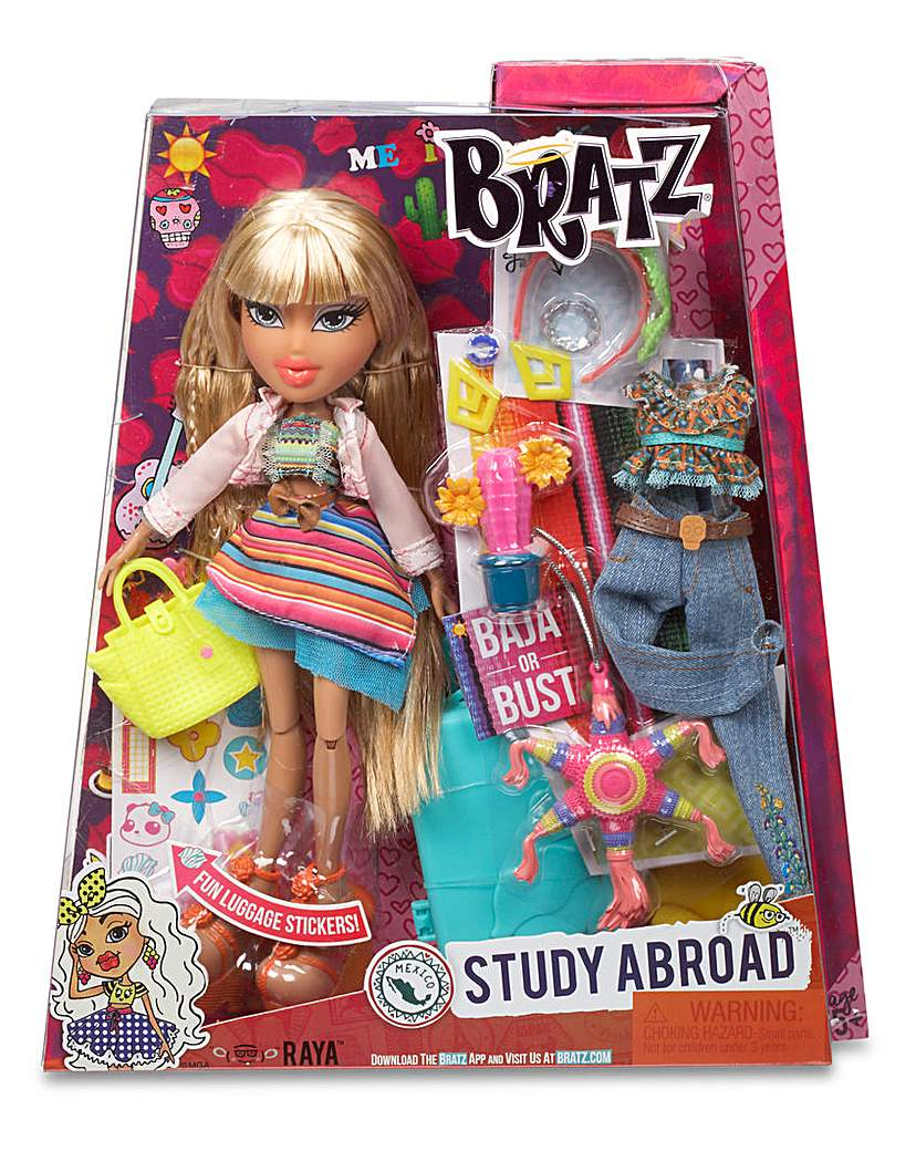 Bratz Study Abroad Doll Raya to Mexico