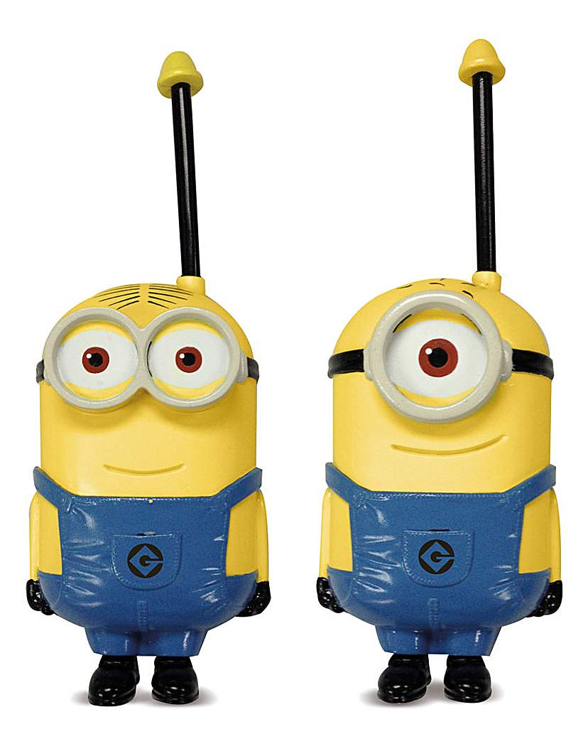 Image of Despicable Me Minion Made Walkie Talkies
