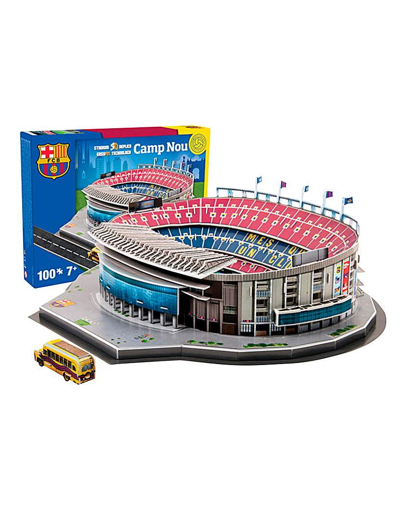 3D Stadium Puzzle Barcelona - Nou Camp