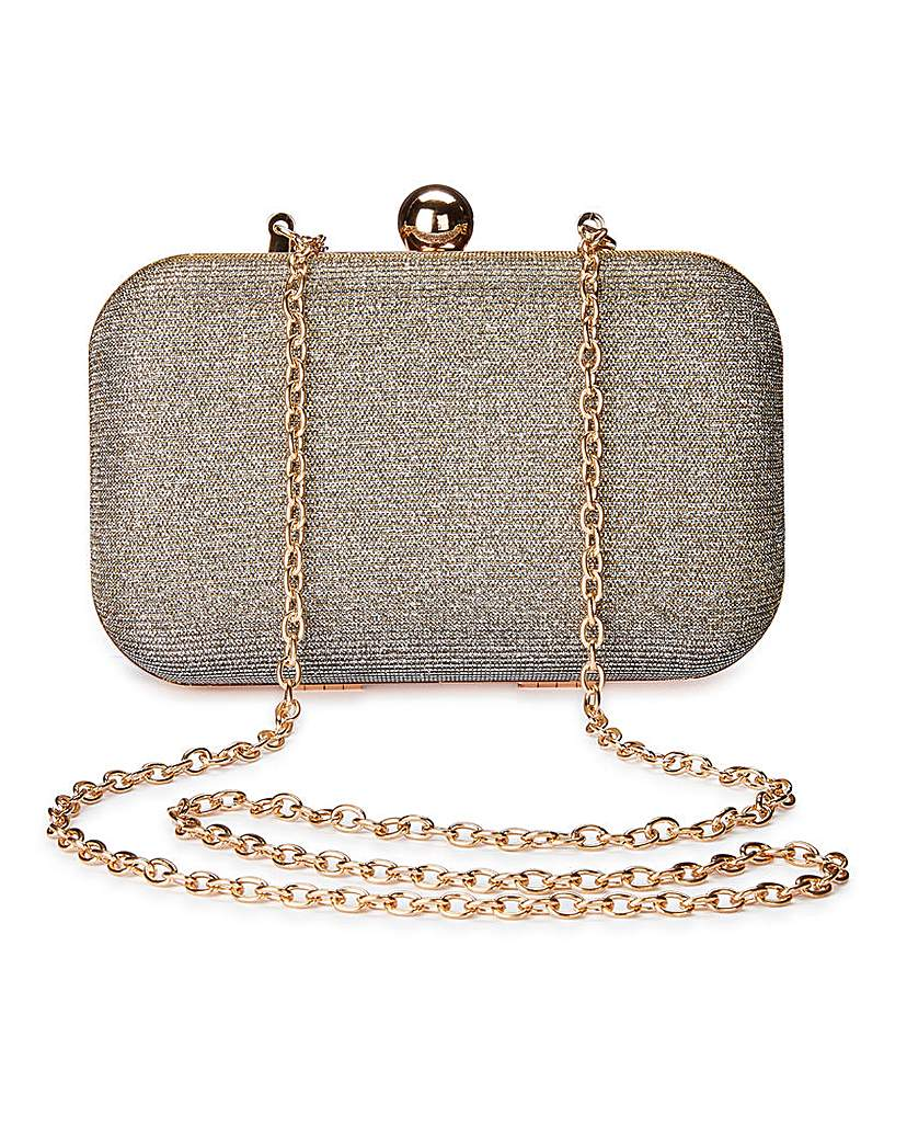 Image of Alice Metallic Clutch Bag