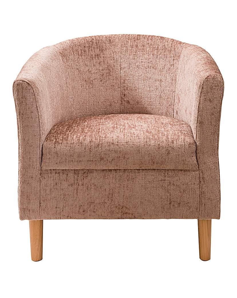 Millie Chenille Tub Chair
