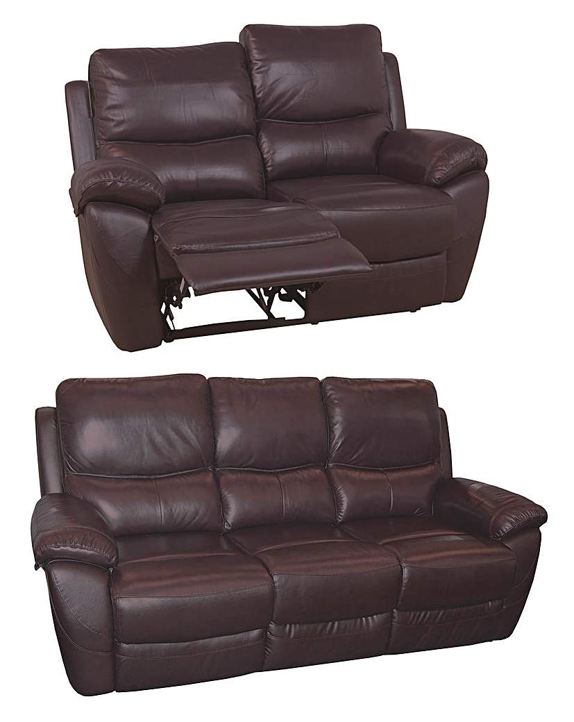 Image of Bentley Leather 3 Seater Plus 2 Seater