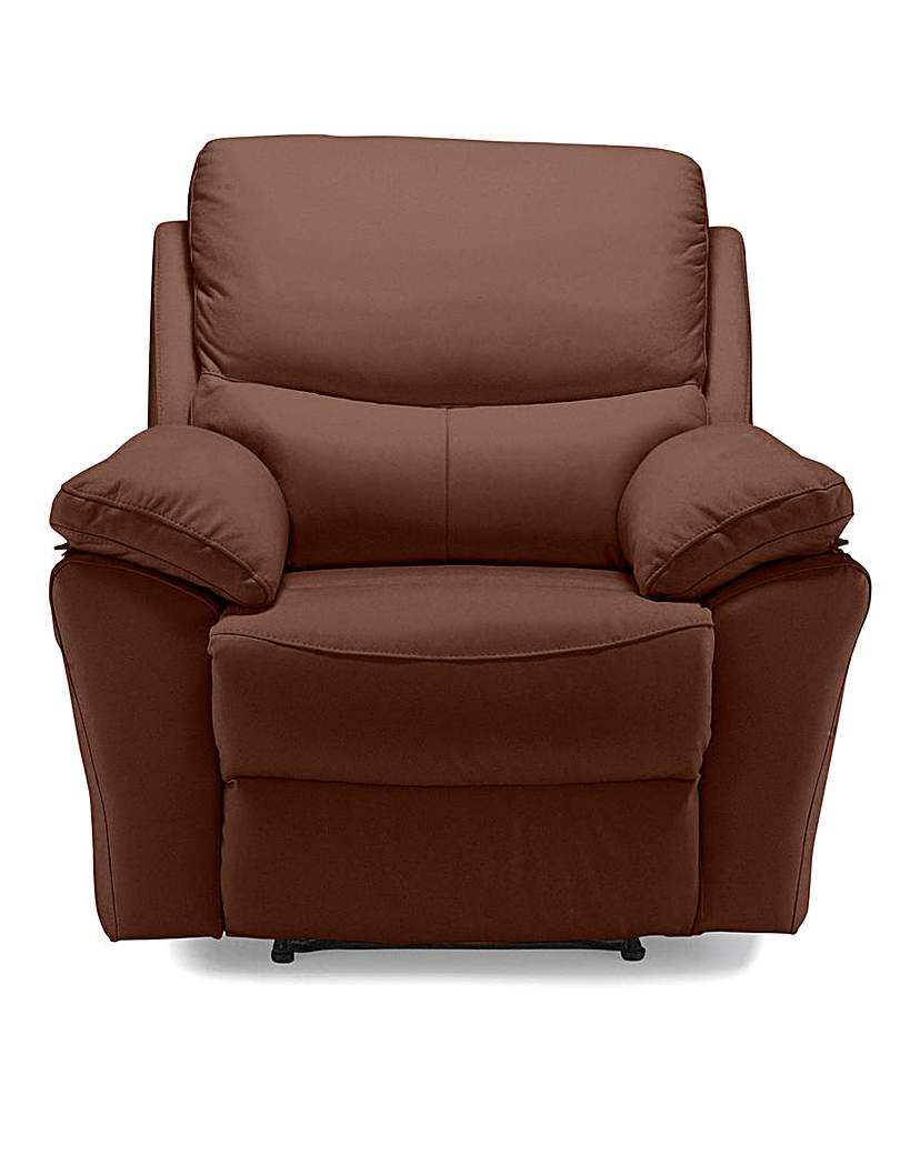 Image of Arezzo Leather Recliner Chair