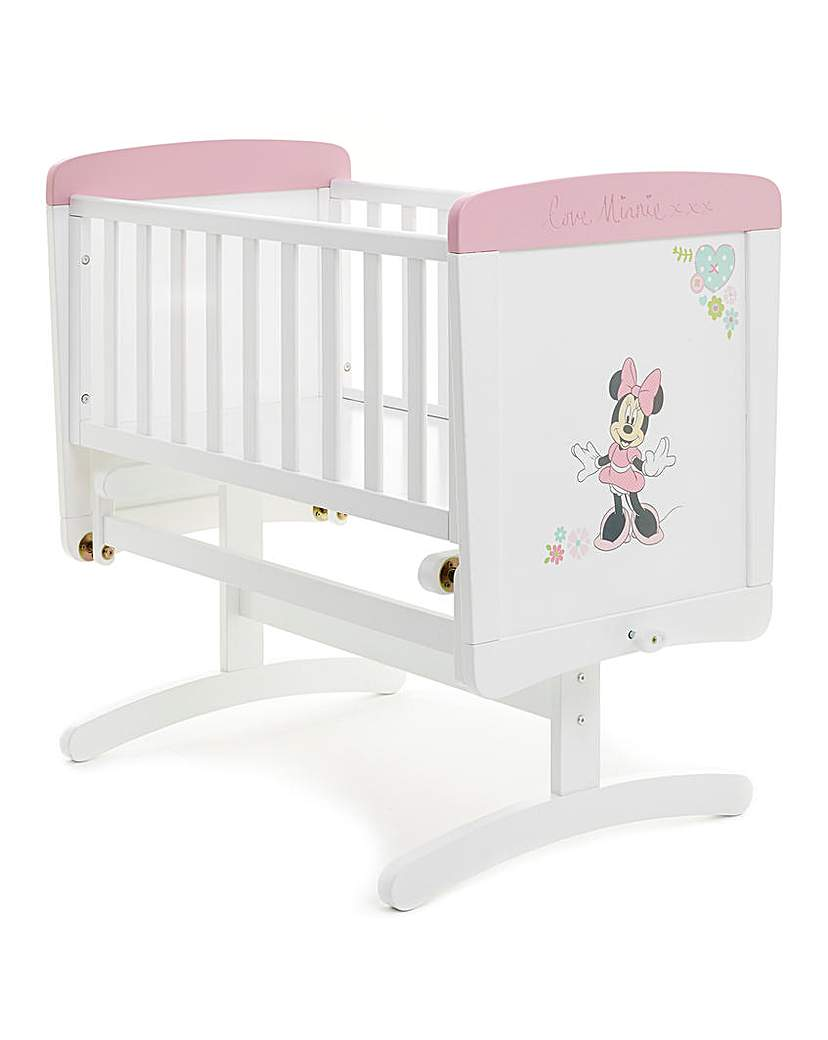 Disney Minnie Mouse Gliding Crib