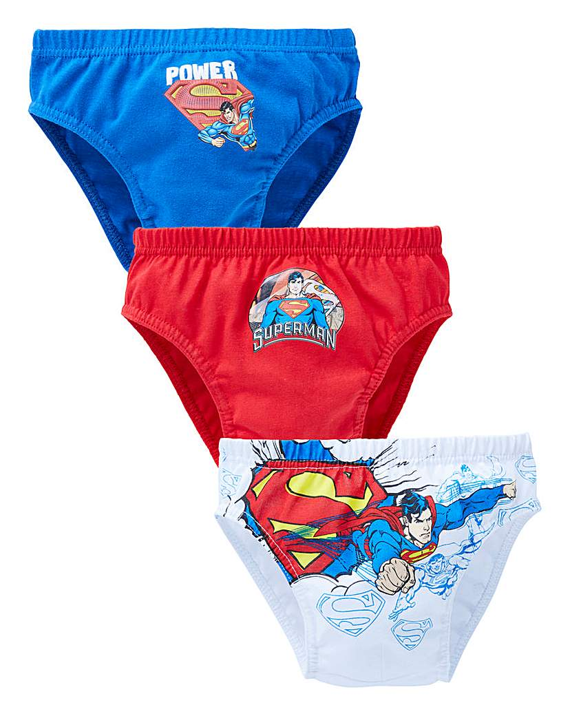 Superman Pack of Three Briefs