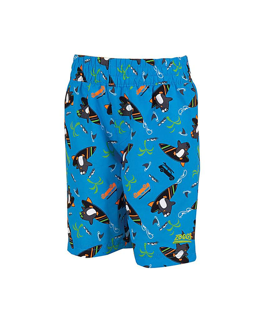 Boys' Clothes Zoggs Surfing Penguin Watershorts