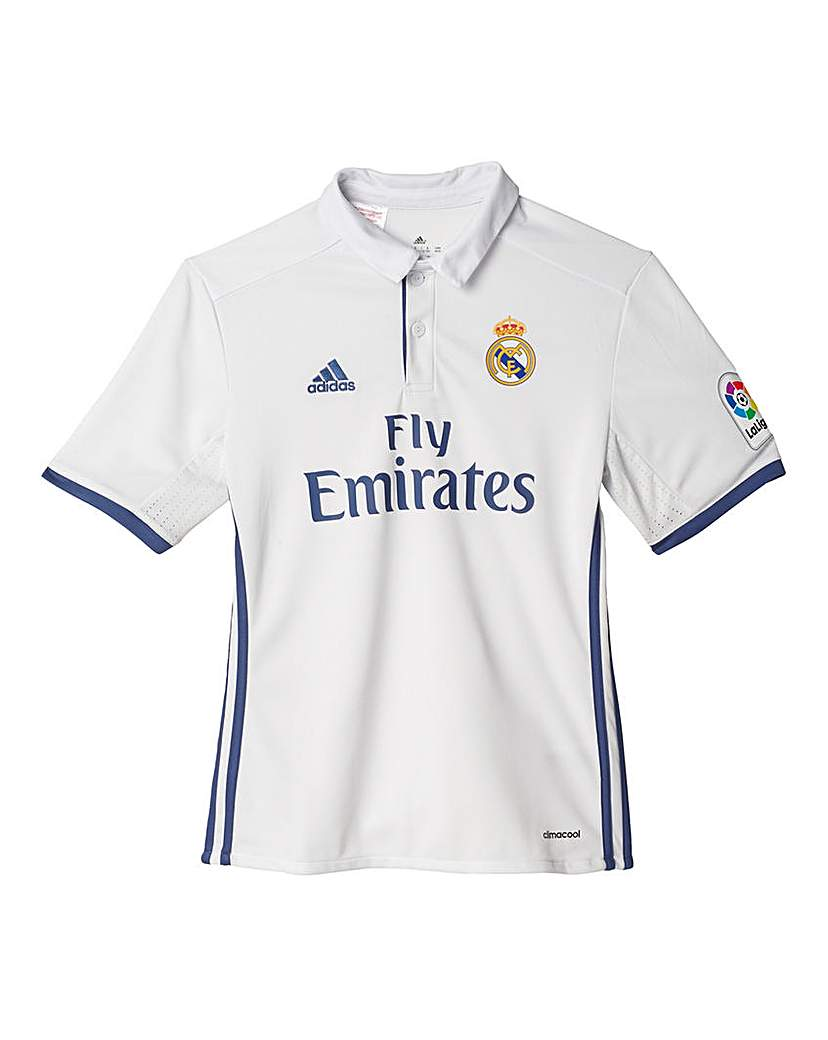Product photo of Real madrid youth boys home jersey