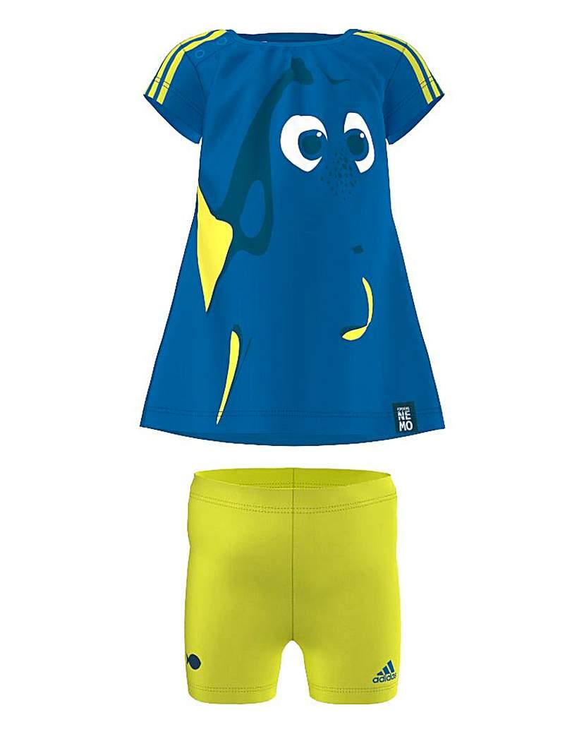 Image of Adidas Disney Dory Tee and Short Set