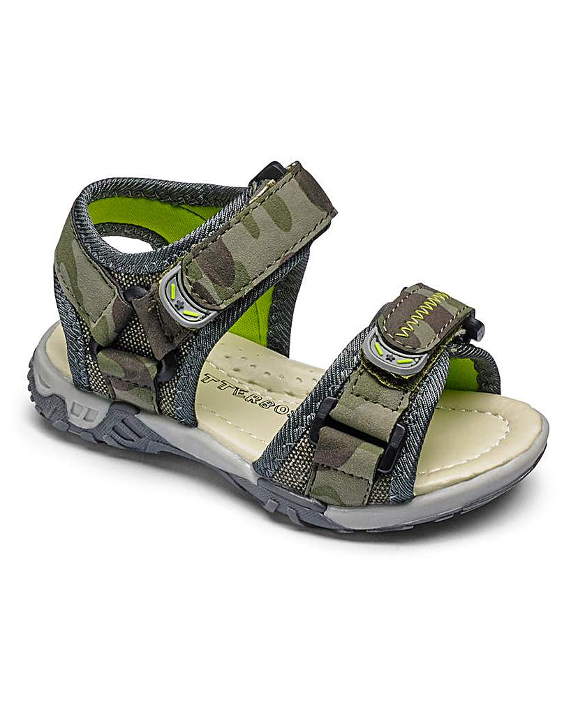 Image of Boys Chatterbox Camo Sandal