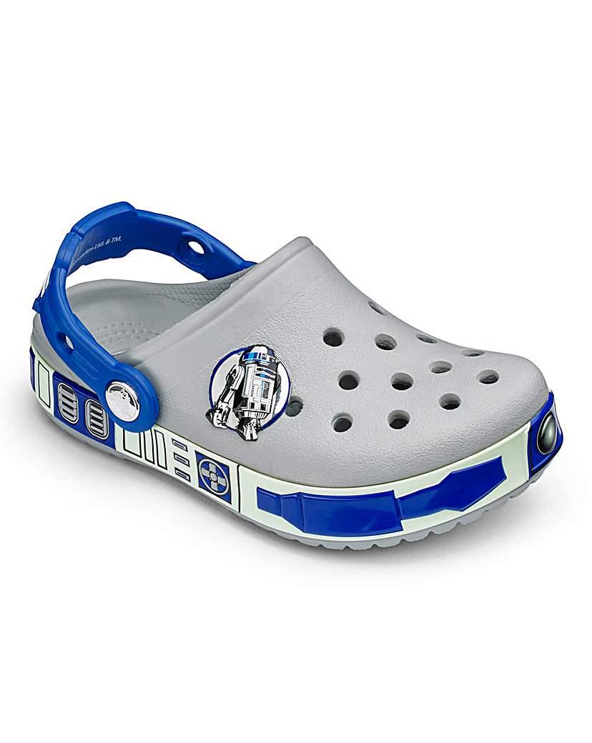 Image of Crocs Crocband Star Wars R2D2 Sandals
