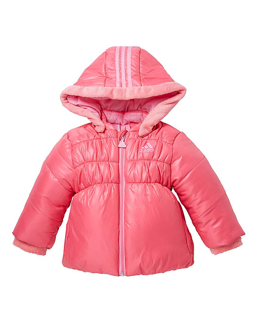 adidas Girls Pink Padded Jacket