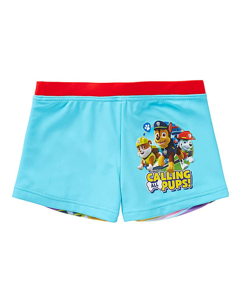 Image of Paw Patrol Boys Swim Shorts