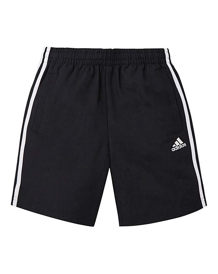 Image of adidas Youth Boys 3 Stripe Woven Shorts