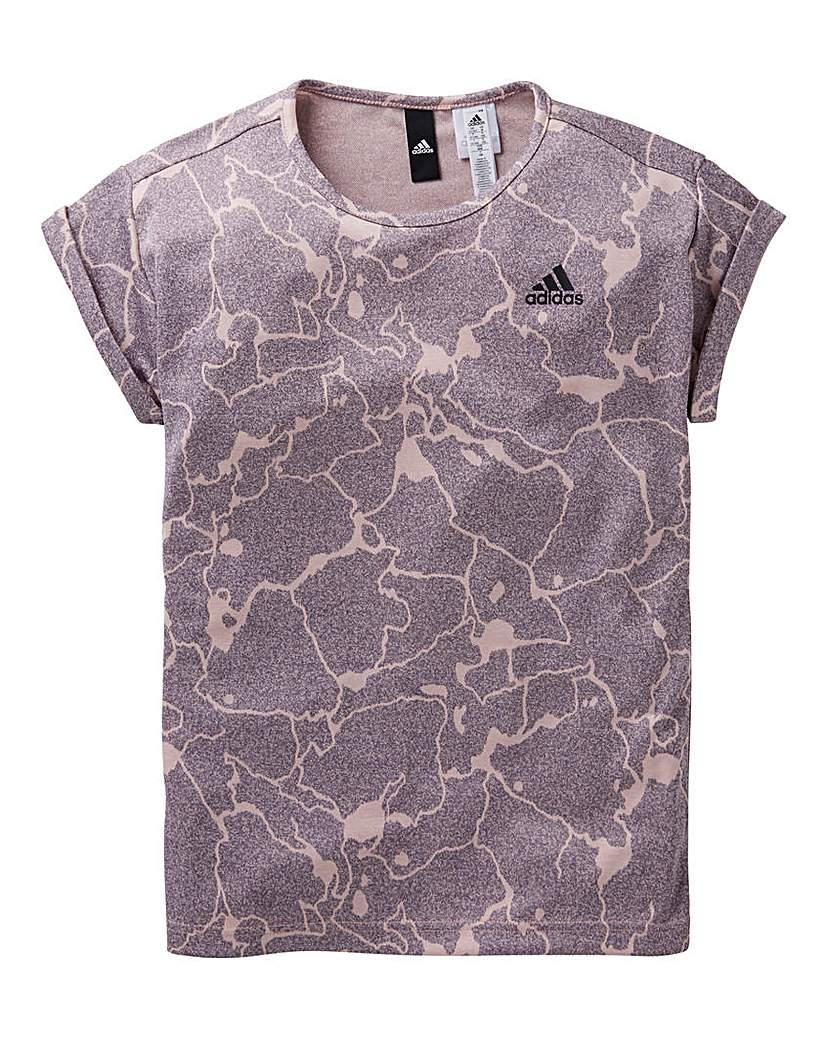 Product photo of Adidas youth girls id loose tshirt