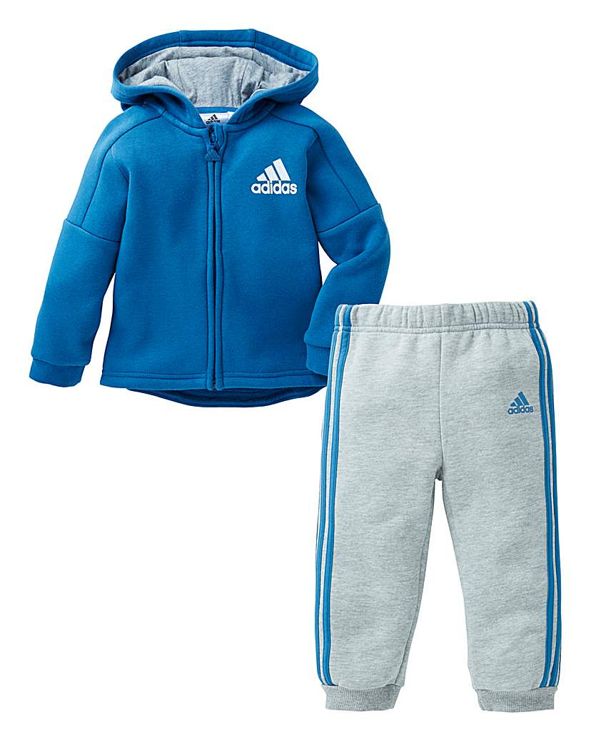 Image of adidas Boys Infant Hoodie And Jogger Set