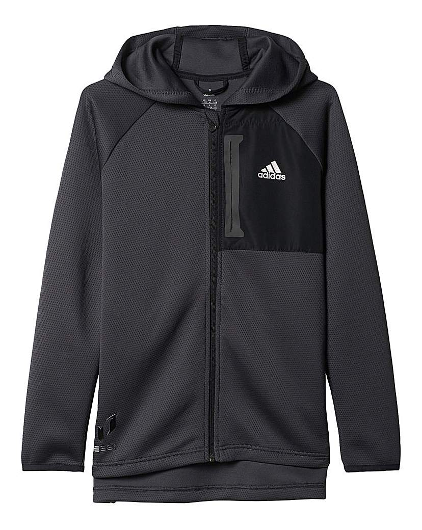 Image of adidas Youth Boys Messi Full Zip Hoodie