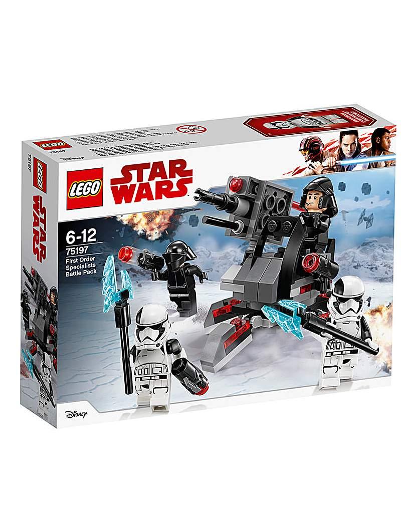 Image of LEGO Star Wars First Order Battle Pack