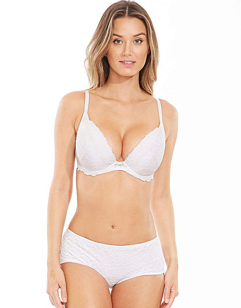 Perfect Support B-GG Lace Plunge Bra