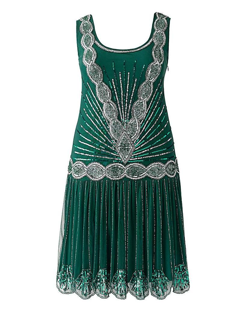 Frock  Frill Zelda Flapper Dress £135.00 AT vintagedancer.com