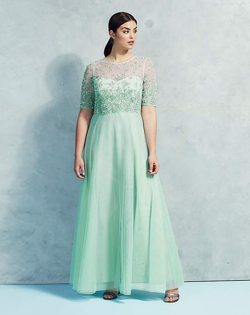 Image of Coast Justina Embellished Maxi Dress