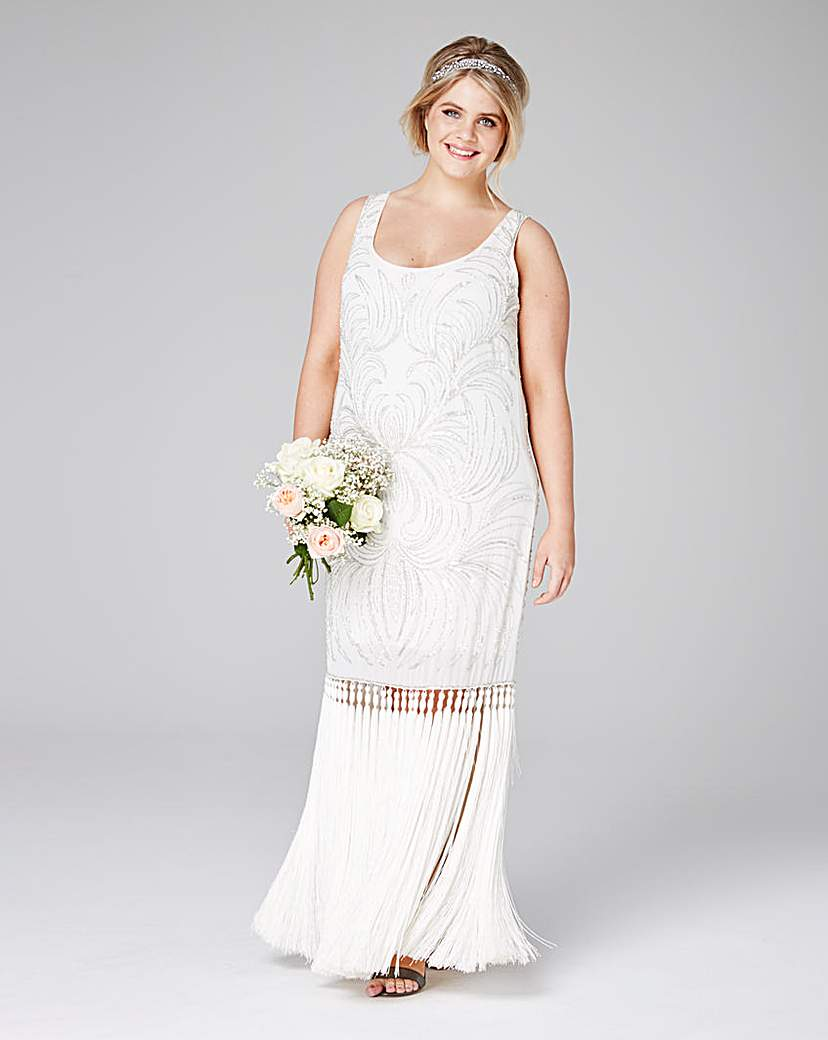 Lovedrobe Luxe Beaded Tassel Dress £77.50 AT vintagedancer.com
