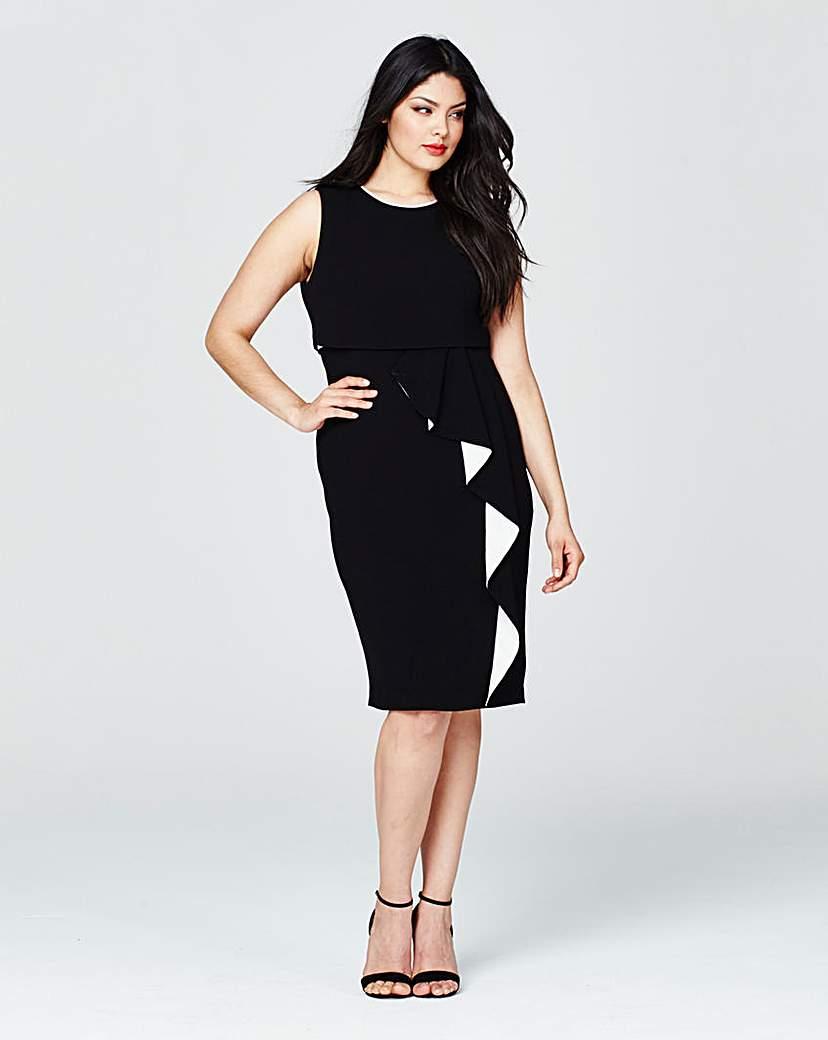 Image of Coast Lomax Mono Crepe Dress