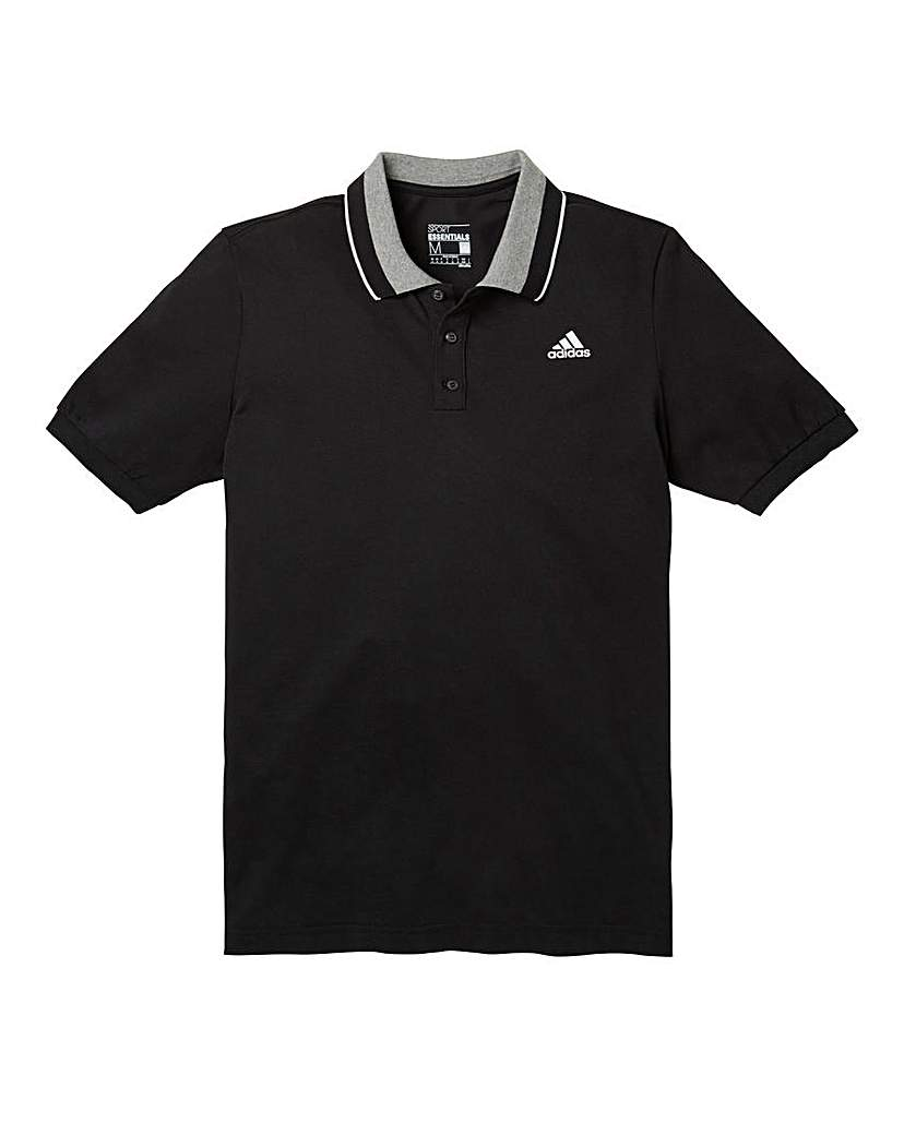 Image of adidas Black Essentials Polo